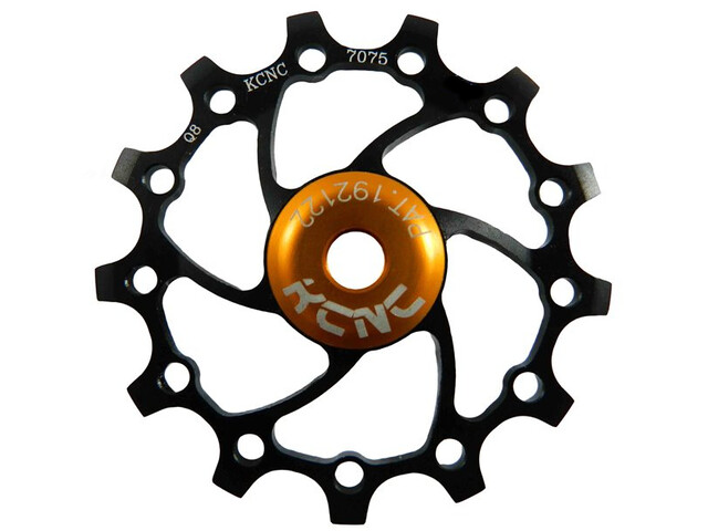 KCNC Jockey Wheel Original SS Lager Long Teeth, 13 tanden, black